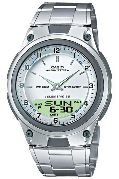 Кварцевые мужские наручные часы Casio AW-80D-7A купить в интернет магазине WorldOfWatch.ru