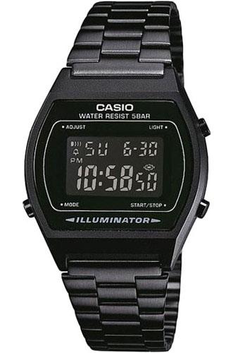 Электронные кварцевые мужские наручные часы Casio B640WB-1B купить в интернет магазине WorldOfWatch.ru
