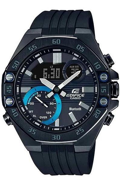 Кварцевые наручные часы Casio ECB-10PB-1A коллекции Edifice с технологией Bluetooth® купить в интернет магазине WorldOfWatch.ru