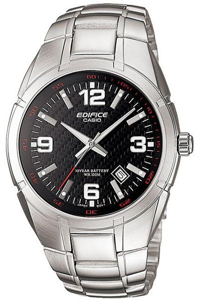 Мужские кварцевые наручные часы Casio EF-125D-1A коллекции Edifice купить в интернет магазине WorldOfWatch.ru