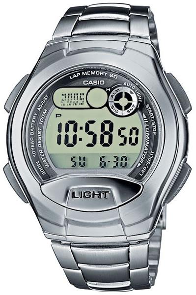 Кварцевые мужские наручные часы Casio W-752D-1A с шагомером купить в интернет магазине WorldOfWatch.ru
